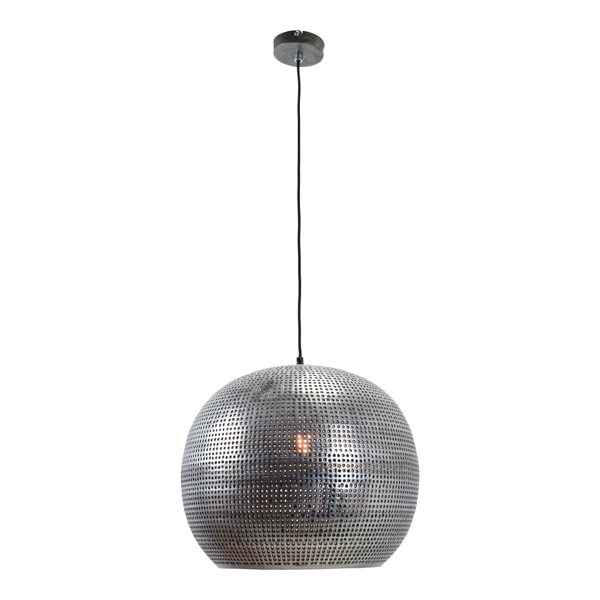 Urban Interiors Hanglamp Spike bol XL Ø 40 cm Zink