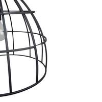 Hanglamp Tube Ø 50 cm Zwart