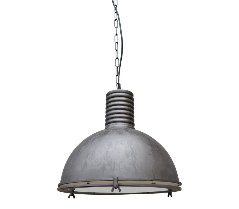 Hanglamp Vintage Ø 40 cm ruw Zwart