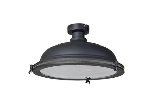 Urban Interiors Plafondlamp Bronx Ø 42 cm Zwart
