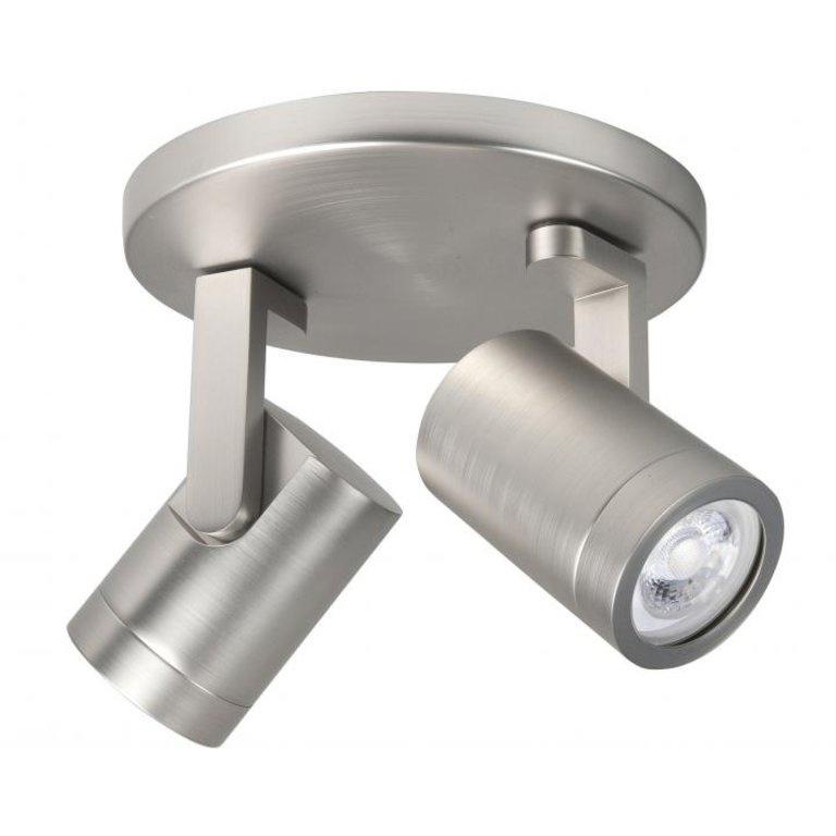 Highlight Spot HALO 2 lichts rond mat chroom