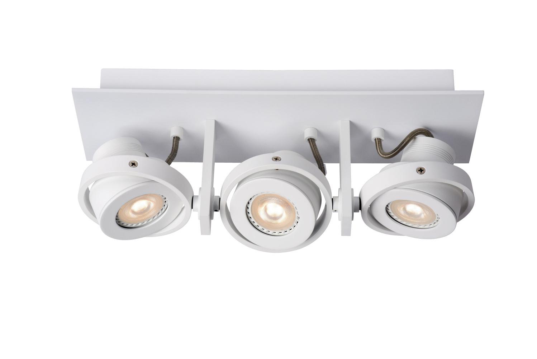 Lucide LANDA Plafondspot-Wit-LED DTW-3xGU10-5W