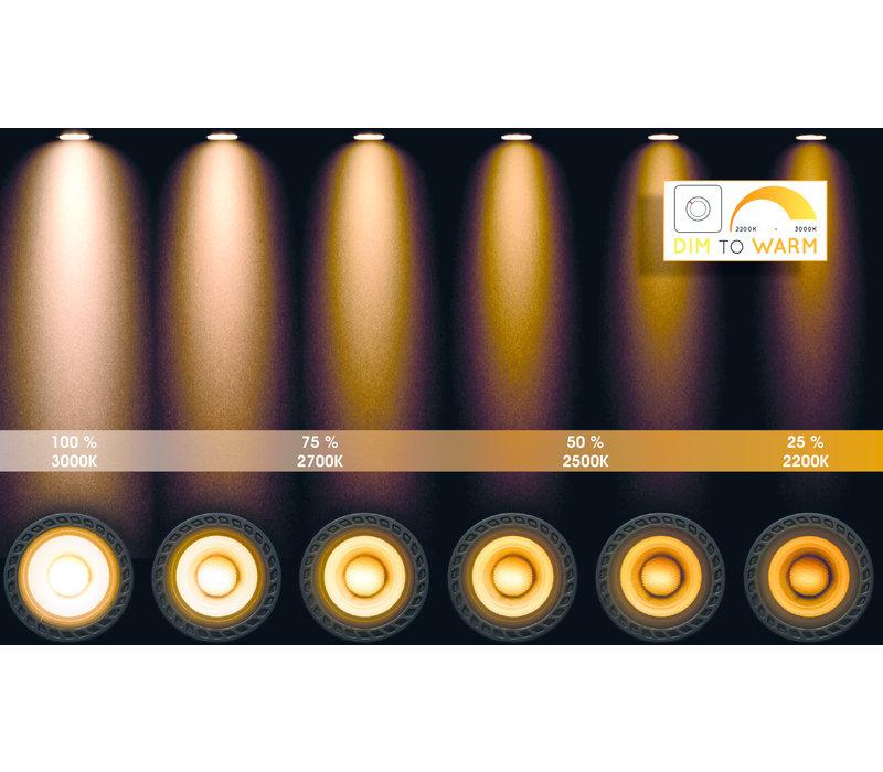 LANDA II Spot LED 3x5W  Gu10 DTW Wit