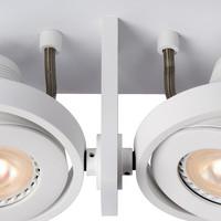 LANDA II Spot LED 2x5W Gu10 DTW Wit