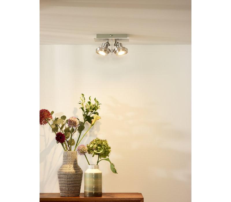 LANDA II Spot LED 2x5W Gu10 DTW Aluminiu