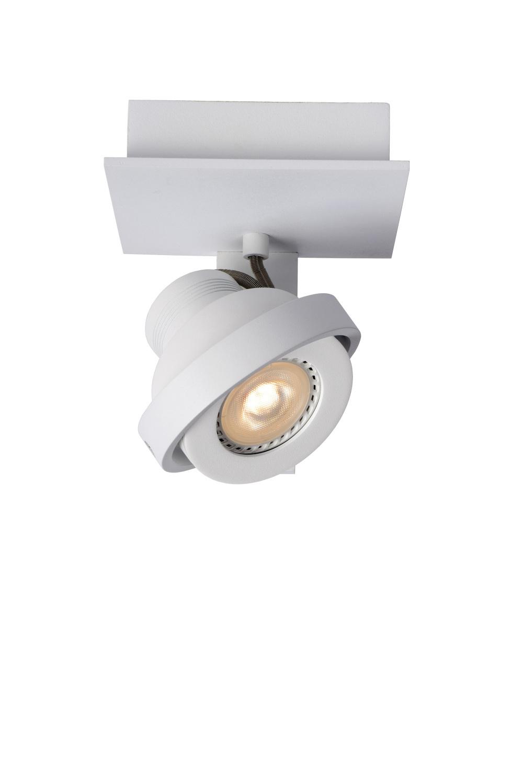 Lucide LANDA Plafondspot-Wit-LED DTW-1xGU10-5W