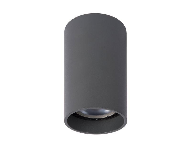 DELTO LED Spot rond GU10/5W Ø5.5 DTW H10cm Grijs