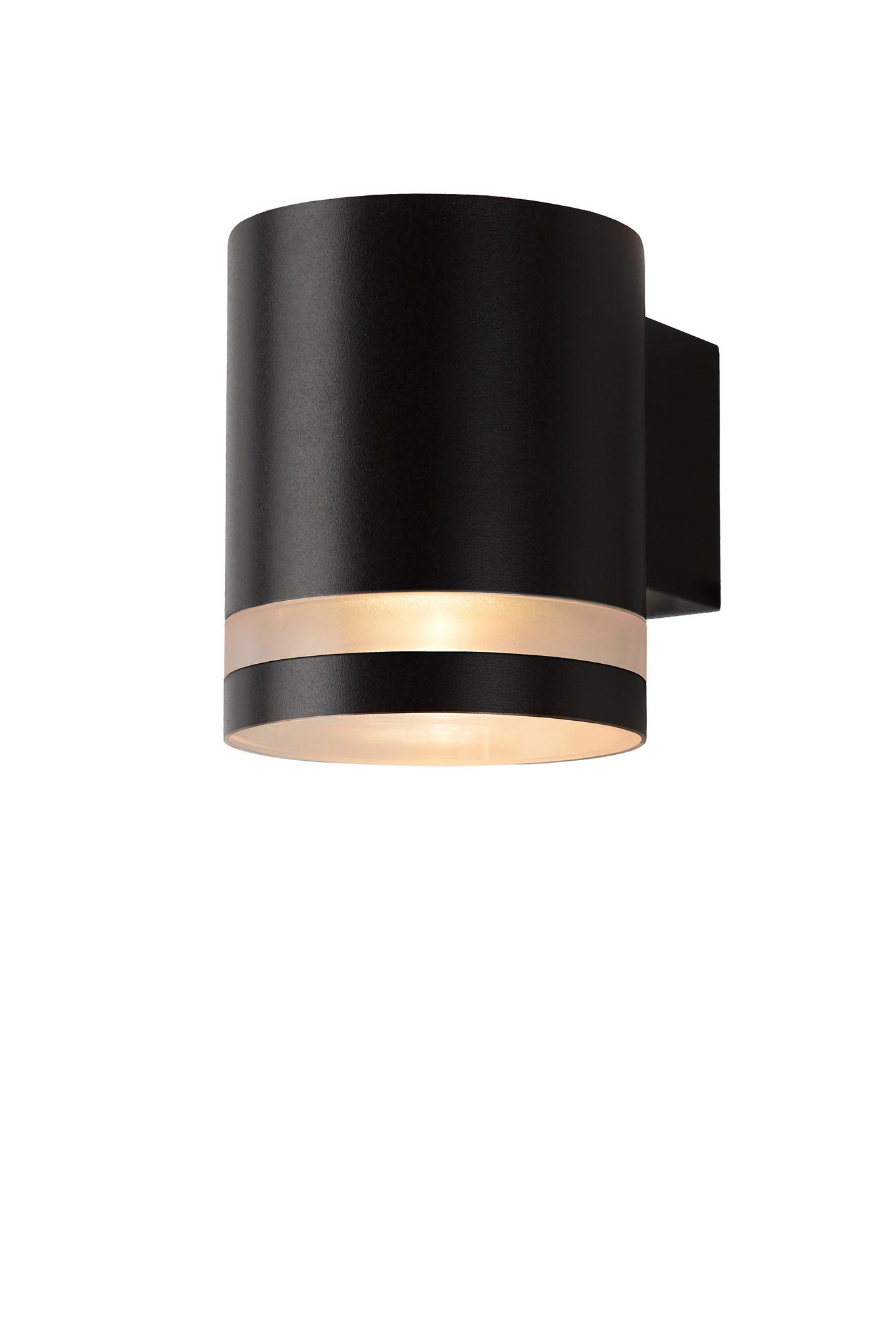 Lucide BASCO-LED Wandlicht IP54 GU10/5W (49008/05/60) Zwa