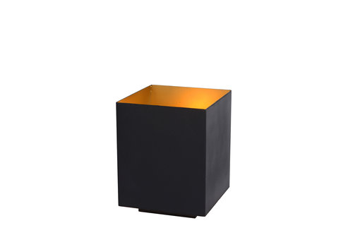 SUZY Tafellamp E14/40W Vierkant Zwart/Goud