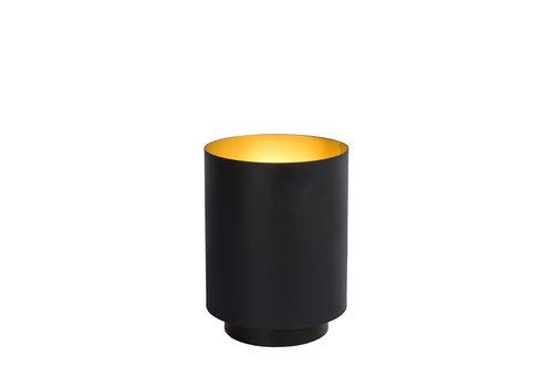SUZY Tafellamp E14/40W Rond Zwart/Goud