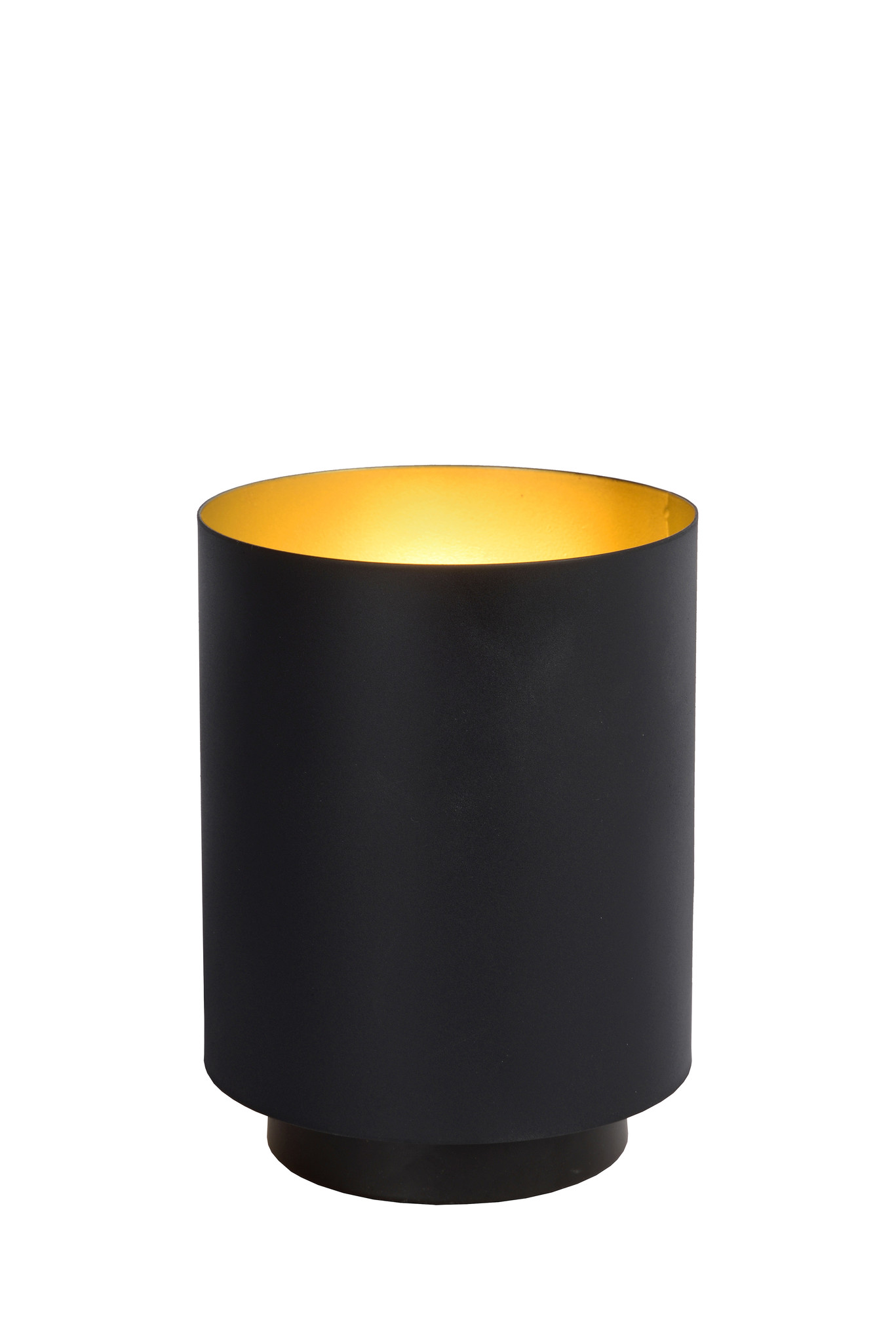 Lucide SUZY Tafellamp-Zwart-Ø12-1xE14-40W-Metaal