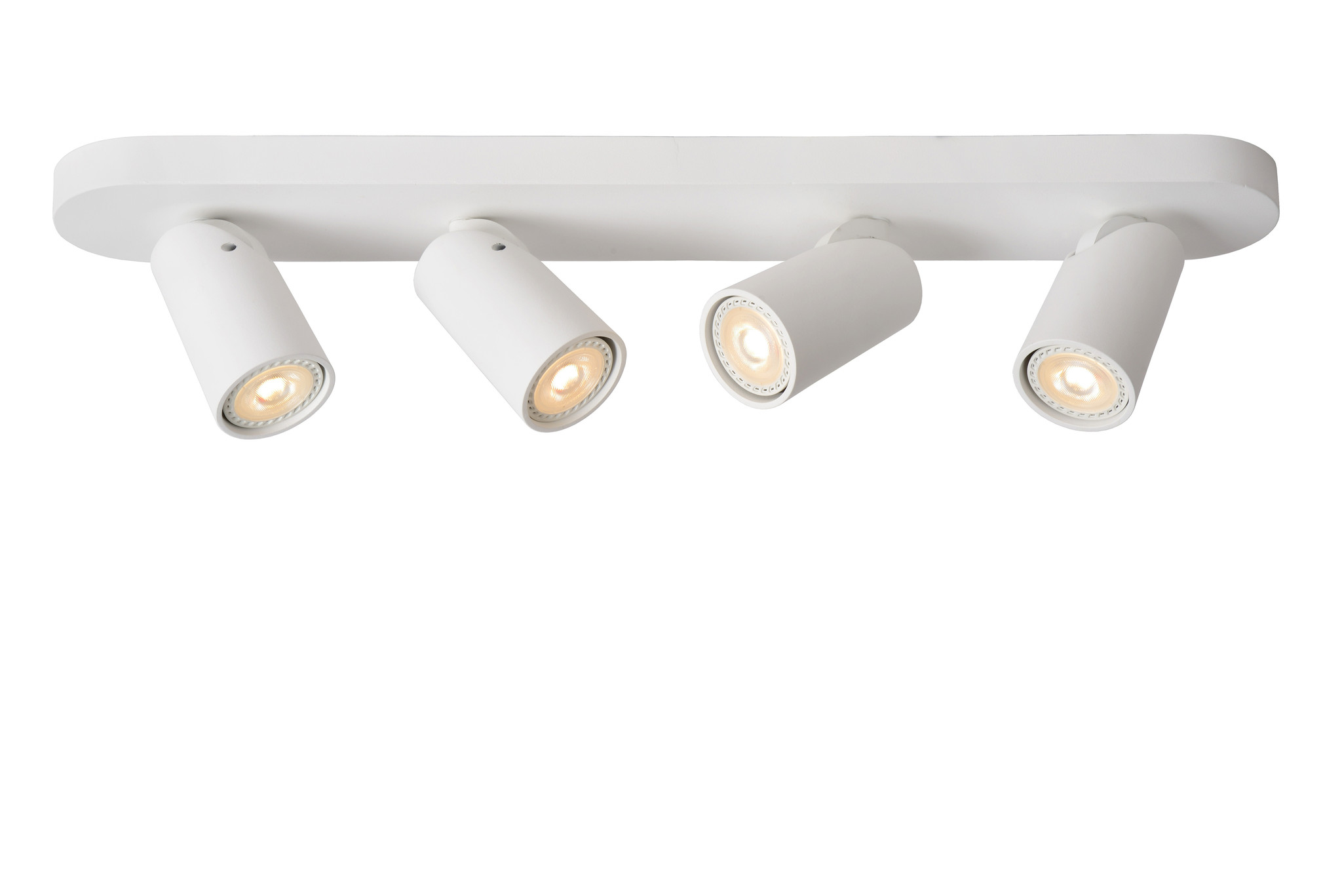 Lucide XYRUS Plafondspot-Wit-LED DTW-4xGU10-5W
