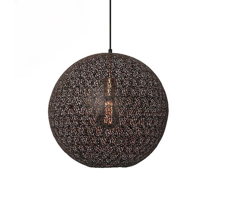 Hanglamp Oronero Ø 40 cm zwart-goud