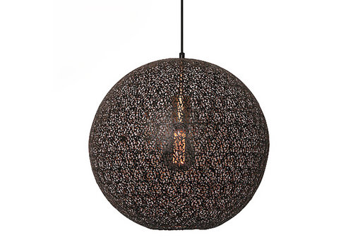 Freelight Hanglamp Oronero Ø 50 cm zwart-goud