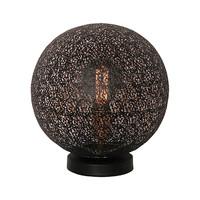 Tafellamp Oronero Ø 30 cm zwart-goud