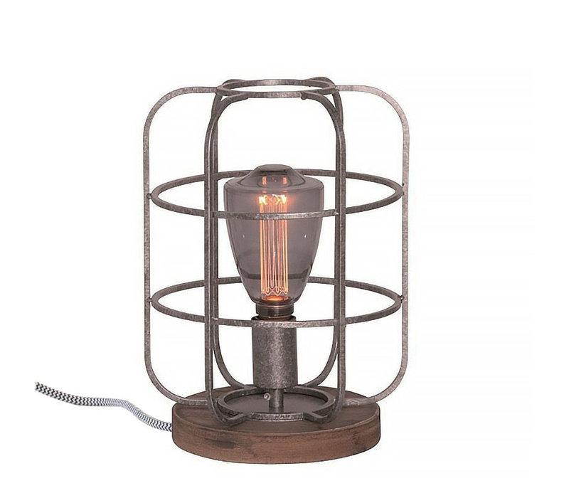 Tafellamp Galera Ø 24 cm antiek zilver