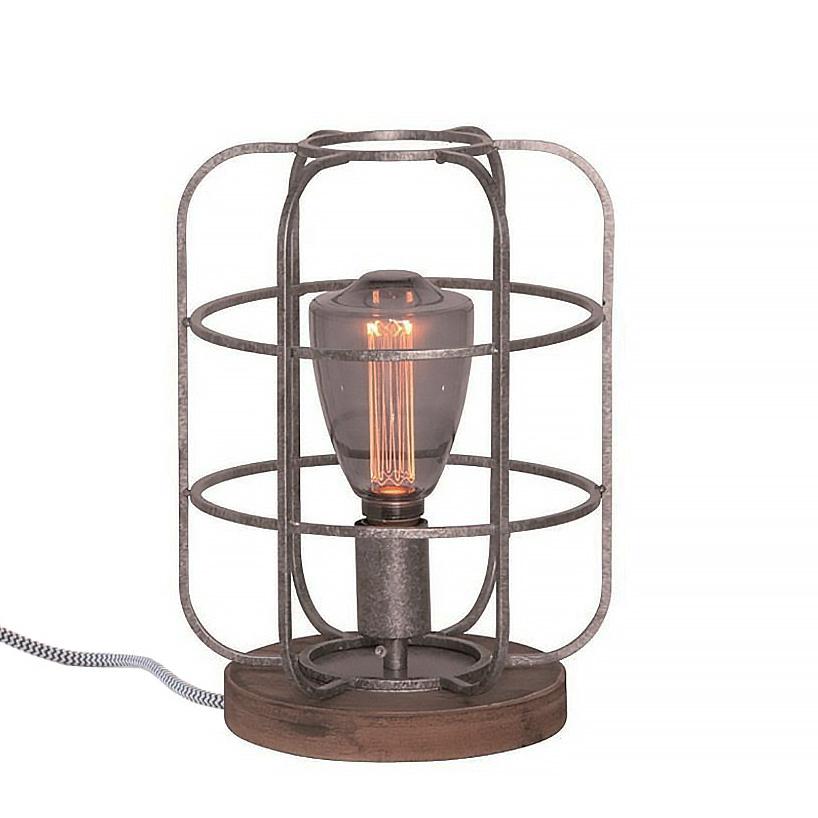 Freelight Tafellamp Galera Ø 24 cm antiek zilver
