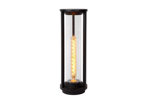Lucide CADIX Sokkellamp Buiten-Zwart-Ø16-1xE27-15W-IP65