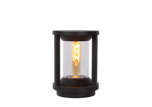 Lucide CADIX Sokkellamp Buiten 22cm E27/max 15W led Zwart