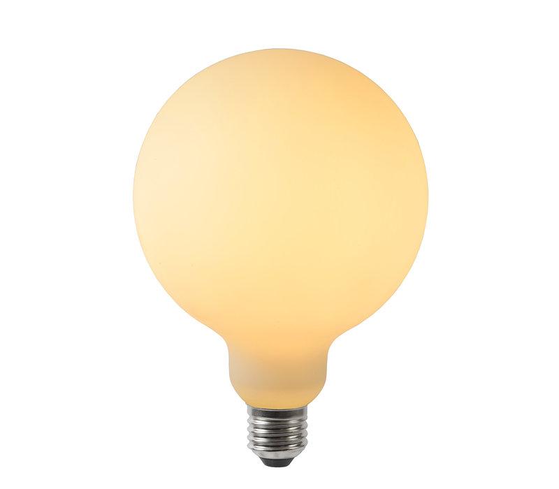 LAMP LED E27/5W G125 450LM Dimbaar  Matt Opal