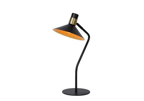 Lucide PEPIJN Tafellamp 1xE14 Zwart / Goud
