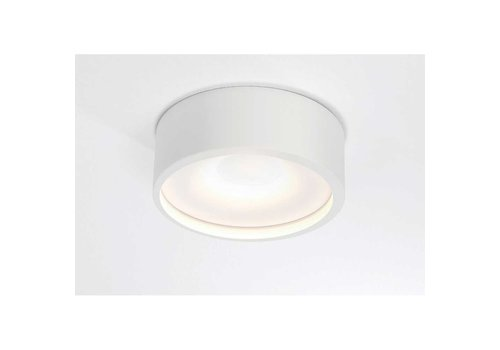 Artdelight Plafondlamp Orlando  Ø 14 cm wit
