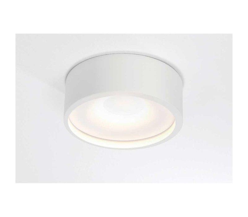 Plafondlamp Orlando  Ø 14 cm wit