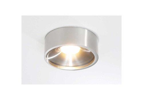 Artdelight Plafondlamp Orlando  Ø 14 cm aluminium