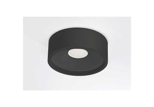 Artdelight Plafondlamp Orlando  Ø 14 cm zwart