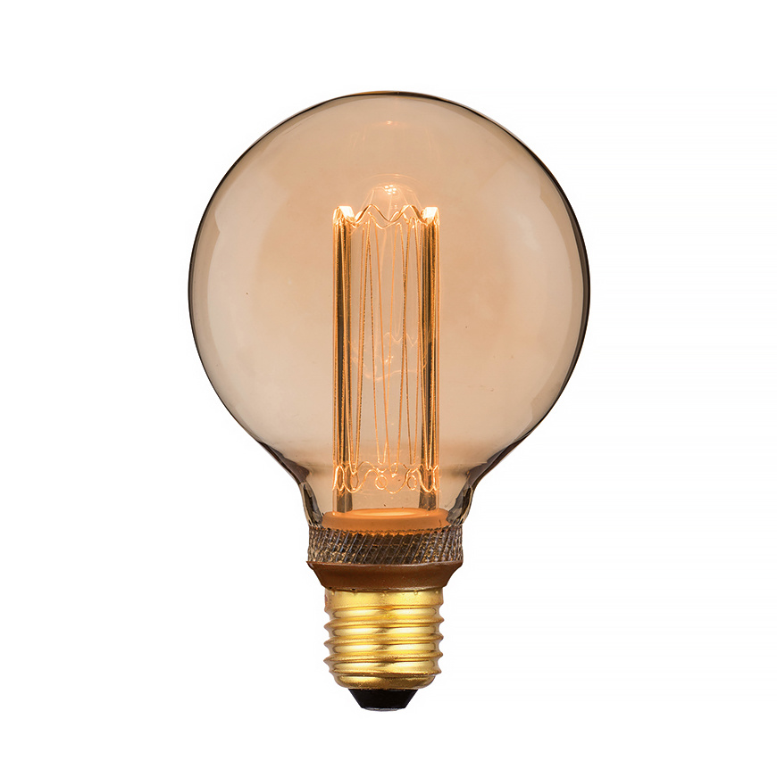 Freelight Lamp LED G95 5W 200 LM 1800K 3 Standen DIM Gold