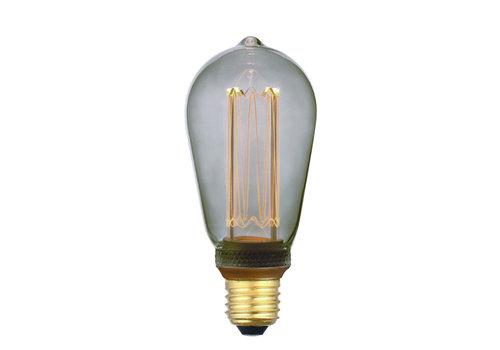 Freelight Lamp LED ST64 5W 100 LM 1800K 3 Standen DIM Rook