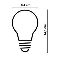 Lamp LED ST64 5W 100 LM 1800K 3 Standen DIM Rook