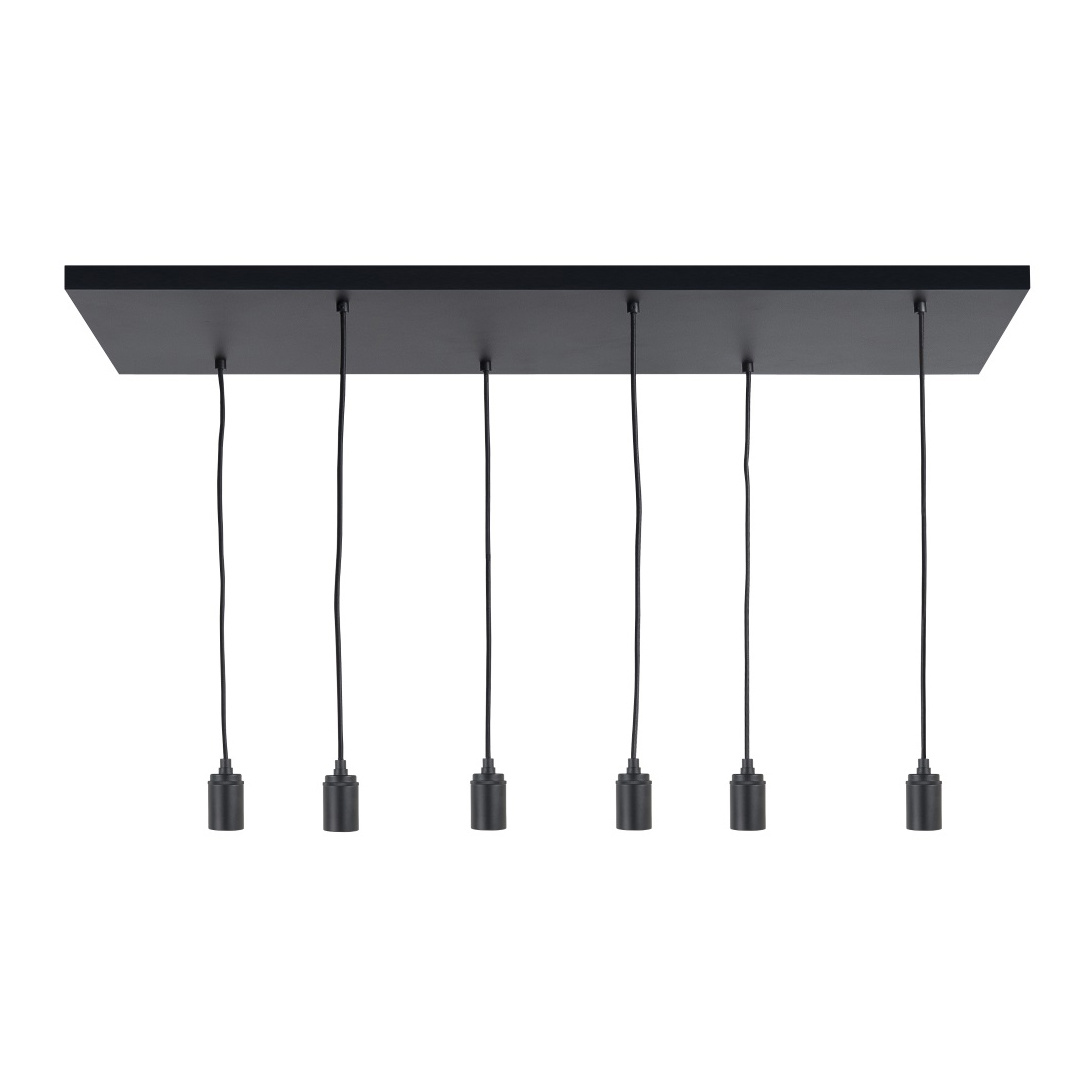 Highlight Plafondplaat 6 lichts L 100 x B 35 cm met snoer en fittingen