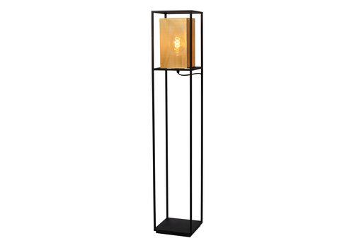 Lucide SANSA Vloerlamp-Zwart-1xE27-40W-Metaal