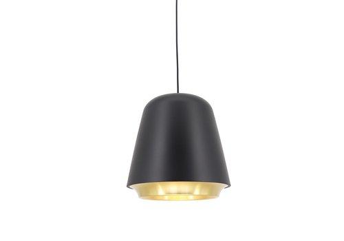 Artdelight Hanglamp Santiago Ø 35 cm zwart-goud