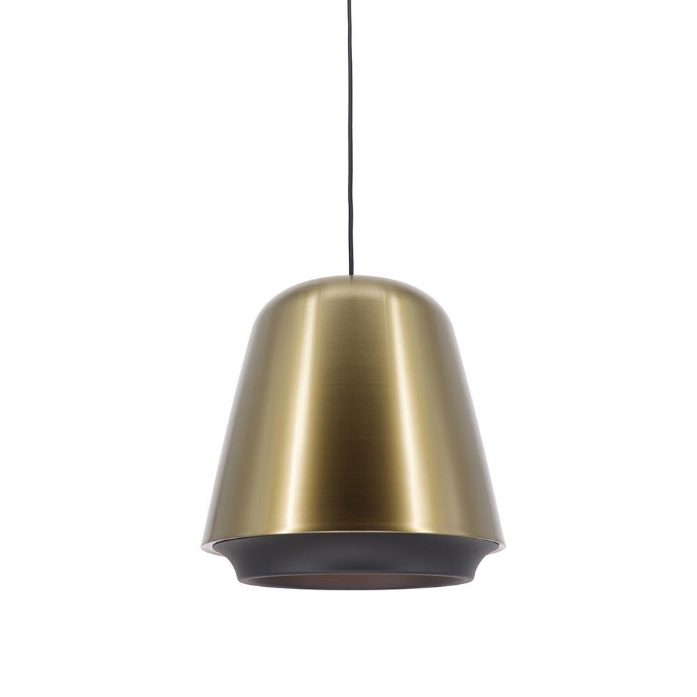 Artdelight Hanglamp Santiago Ø 35 cm brons-zwart