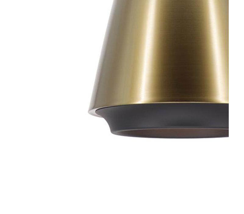 Hanglamp Santiago Ø 35 cm brons-zwart