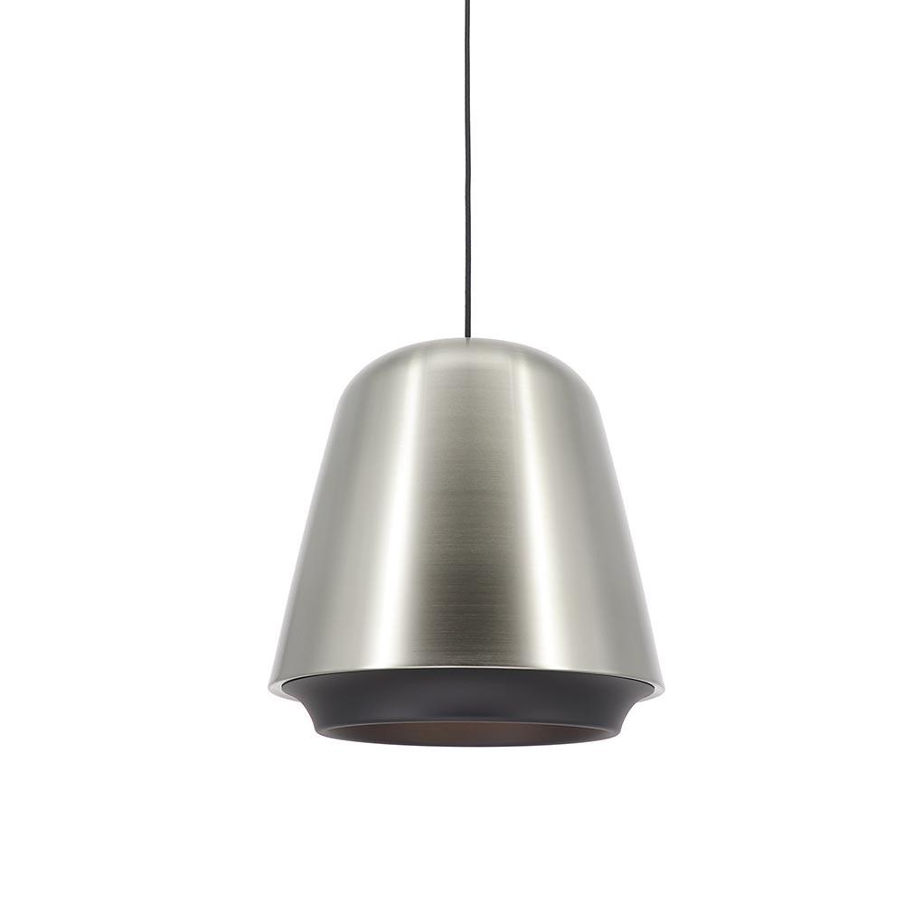 Artdelight Hanglamp Santiago Ø 35 cm mat chroom-zwart