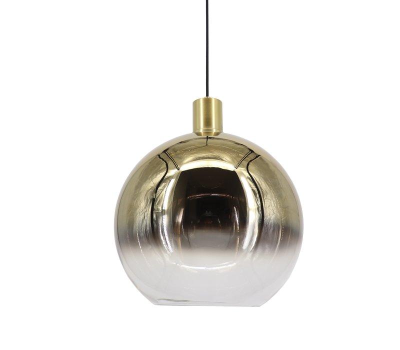 Hanglamp Rosario Ø 30 cm glas goud-helder