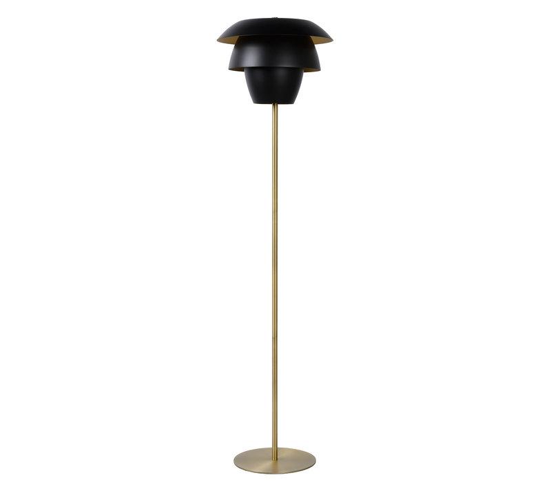 JERICHO Vloerlamp E27/40W Zwart