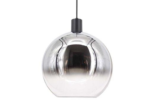 Artdelight Hanglamp Rosario Ø 40 cm glas chroom-helder