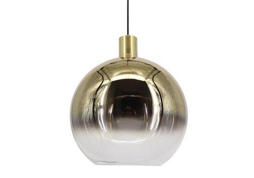 Artdelight Hanglamp Rosario Ø 40 cm glas goud-helder