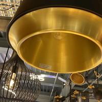 Hanglamp Santiago Ø 35 cm zwart-goud