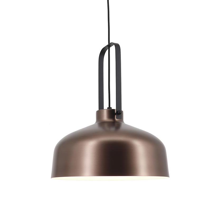 Artdelight Hanglamp Mendoza Ø 37,5 cm bruin-zwart