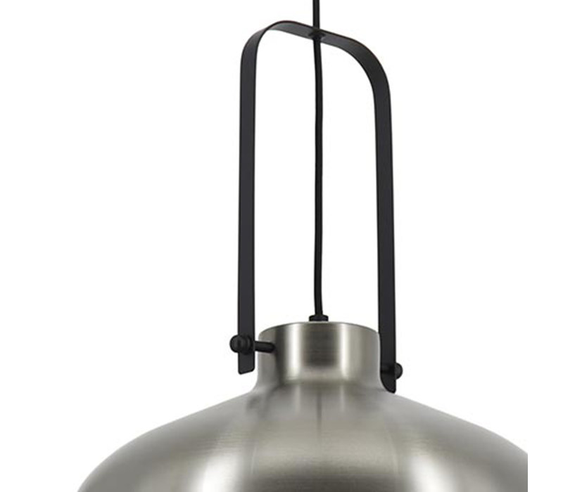 Hanglamp Mendoza Ø 37,5 cm mat chroom-zwart