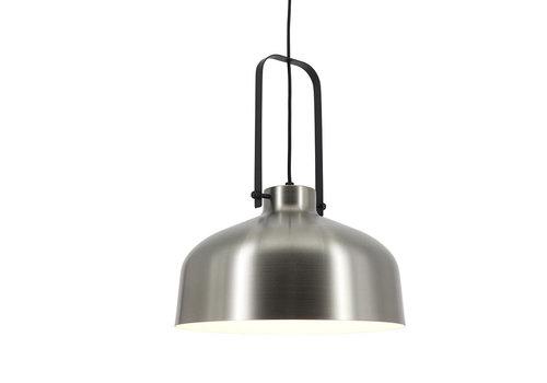 Artdelight Hanglamp Mendoza Ø 37,5 cm mat chroom-zwart