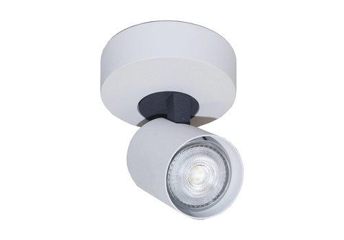 Artdelight Spot Vivaro 1 lichts Ø 10 cm wit