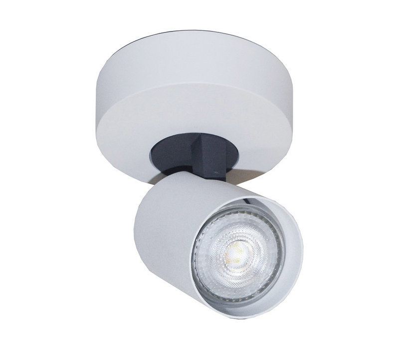 Spot Vivaro 1 lichts Ø 10 cm wit