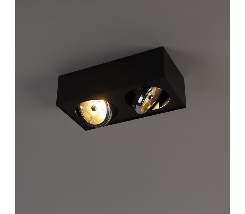 Spot Kaya 2 lichts G9 zwart