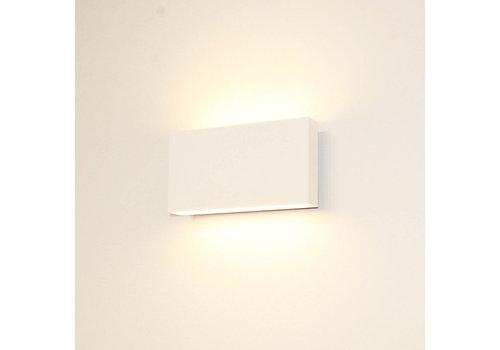 Artdelight Wandlamp Box L 17 cm H 9 cm wit